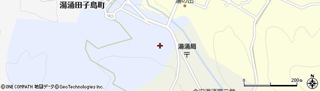 石川県金沢市湯涌田子島町(ヘ)周辺の地図