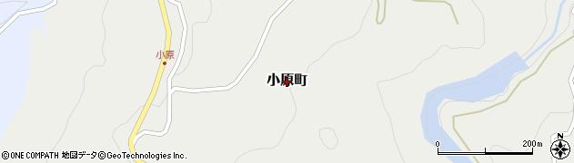 石川県金沢市小原町周辺の地図