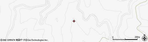 長野県大町市八坂(作の手)周辺の地図