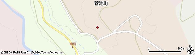 石川県金沢市菅池町(イ)周辺の地図