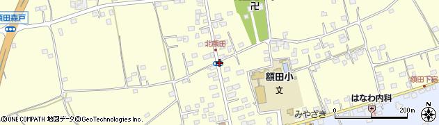 稲川理容所周辺の地図
