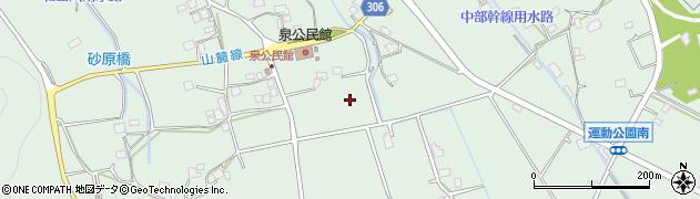 長野県大町市常盤(泉)周辺の地図