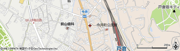 長野県千曲市戸倉(今井)周辺の地図