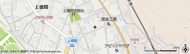 長野県千曲市上徳間周辺の地図