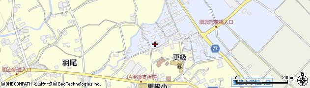 長野県千曲市須坂周辺の地図