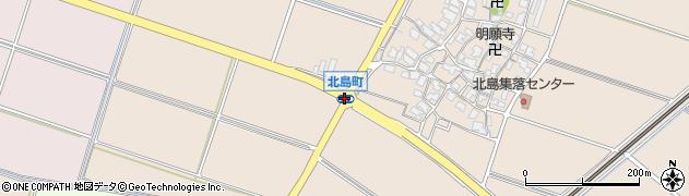 北島町周辺の地図