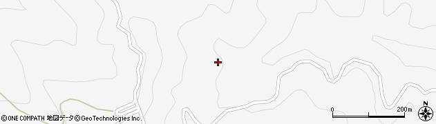 長野県大町市八坂(大洞)周辺の地図