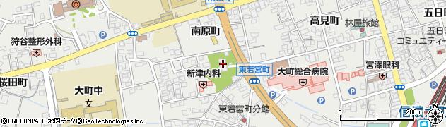 長性院周辺の地図