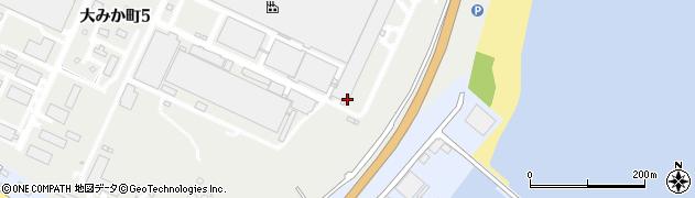 株式会社日立物流 東日本営業本部日立営業部大みか営業所周辺の地図