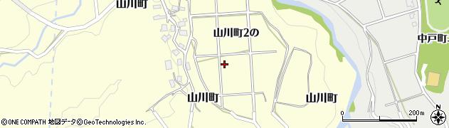 石川県金沢市山川町(2の)周辺の地図