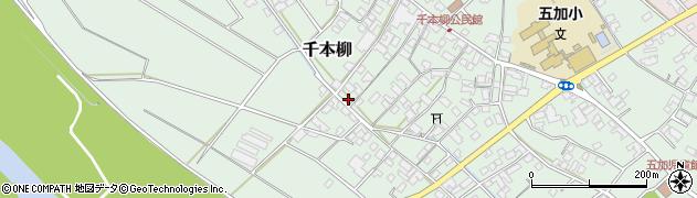 長野県千曲市千本柳周辺の地図