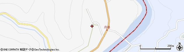長野県大町市八坂(舟場)周辺の地図