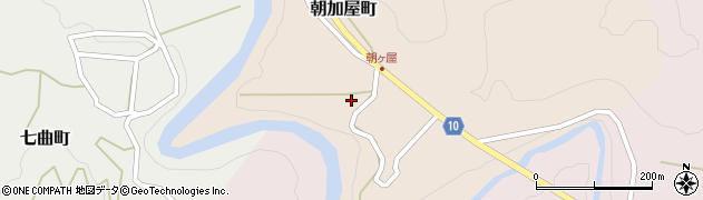 石川県金沢市朝加屋町(ル)周辺の地図