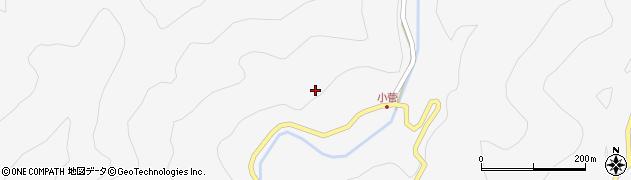 長野県大町市八坂(小菅)周辺の地図
