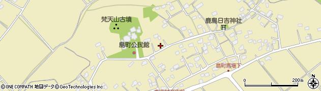 茨城県常陸太田市島町周辺の地図