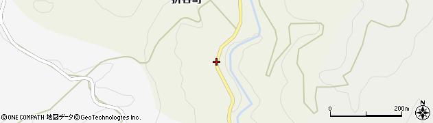 石川県金沢市折谷町(ヘ)周辺の地図