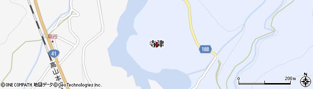 富山県富山市寺津周辺の地図