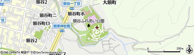 石川県金沢市額谷町(ヌ)周辺の地図