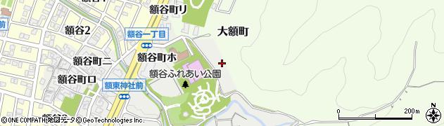 石川県金沢市額谷町(ル)周辺の地図