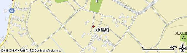 茨城県常陸太田市小島町周辺の地図