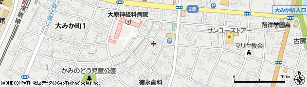 ホテルラパロ大みか周辺の地図