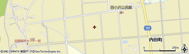茨城県常陸太田市内田町周辺の地図