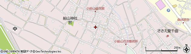 長野県千曲市小船山周辺の地図