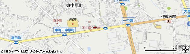 長野県大町市大町(不二塚町)周辺の地図