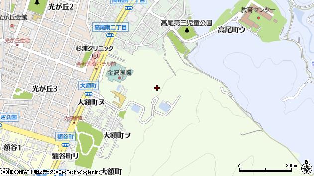 〒921-8143 石川県金沢市大額町の地図