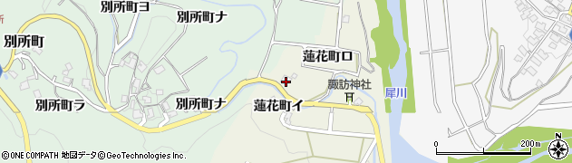 石川県金沢市蓮花町(ロ)周辺の地図