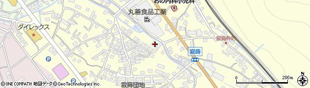 長野県千曲市寂蒔周辺の地図
