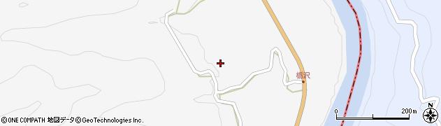 長野県大町市八坂(栃沢)周辺の地図