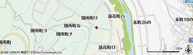 石川県金沢市別所町(7の)周辺の地図