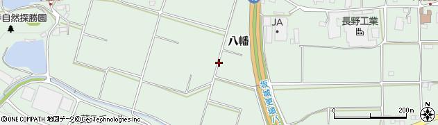 長野県千曲市八幡周辺の地図