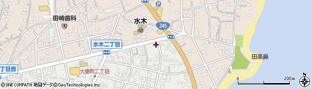 大みか自動車販売周辺の地図
