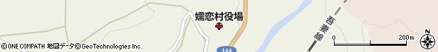 群馬県吾妻郡嬬恋村周辺の地図