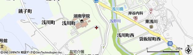 石川県金沢市浅川町(ニ)周辺の地図