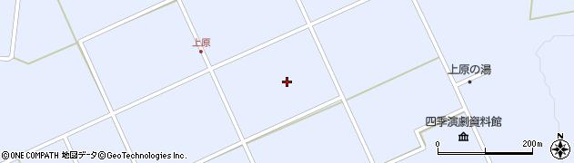 長野県大町市平(上原)周辺の地図