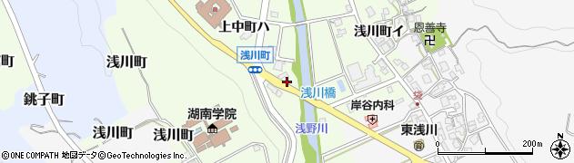 石川県金沢市浅川町(ホ)周辺の地図