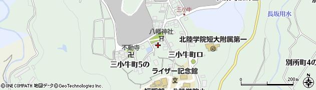 石川県金沢市三小牛町(ホ)周辺の地図