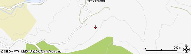 石川県金沢市平等本町周辺の地図