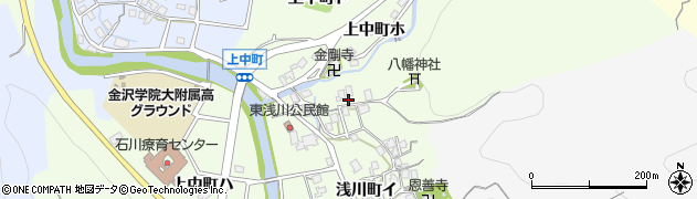 石川県金沢市上中町(ニ)周辺の地図