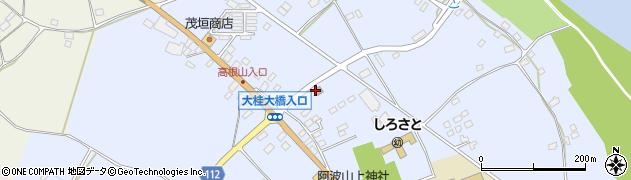 茨城県警察本部 笠間警察署桂駐在所周辺の地図