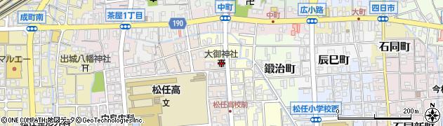 大御神社周辺の地図