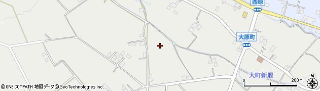 長野県大町市大町(大原町)周辺の地図