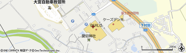 イオン常陸大宮店 ラスコリナス周辺の地図