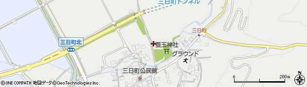 長野県大町市大町(三日町)周辺の地図
