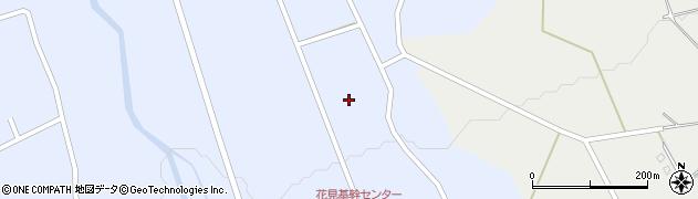 長野県大町市平(花見)周辺の地図