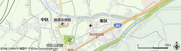 長野県千曲市桑原(東区)周辺の地図