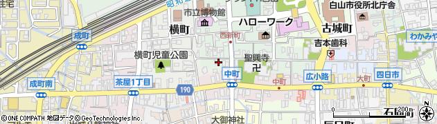 仙龍寺周辺の地図